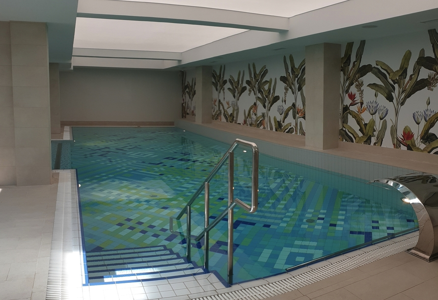 Hotel Afrodyta Spa in Swinemünde, Polnische Ostsee, Pool