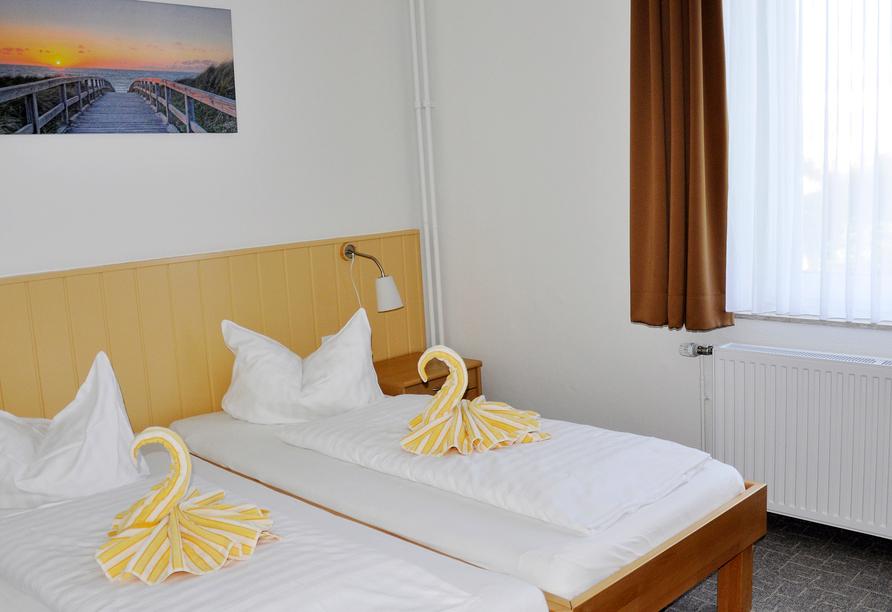 Hotel Atlantik Borkum, Beispielzimmer