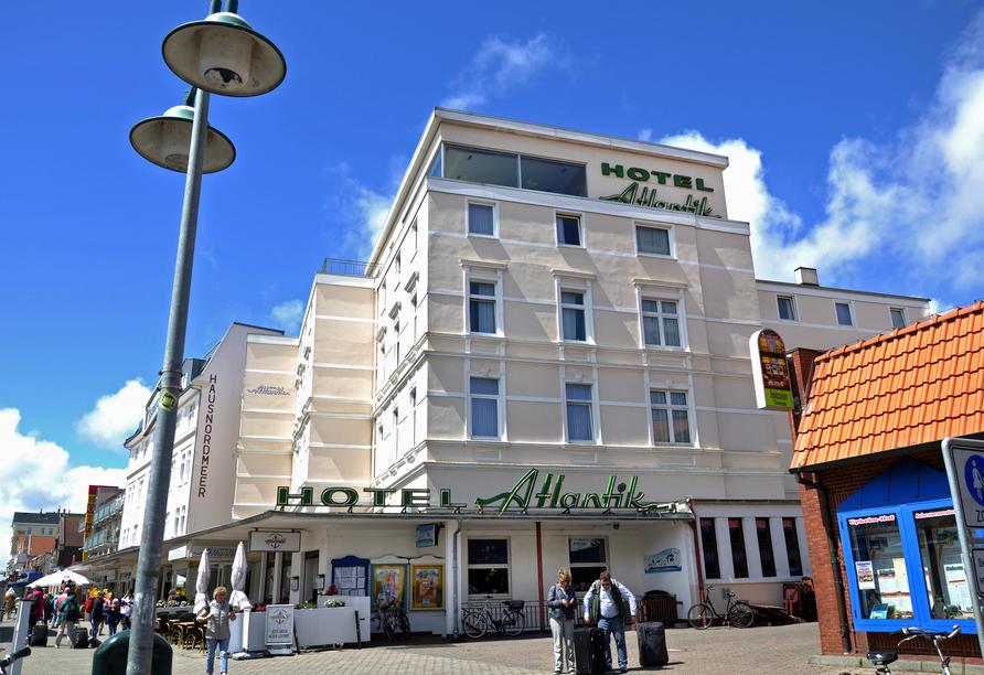 Hotel Atlantik Borkum, Außenansicht