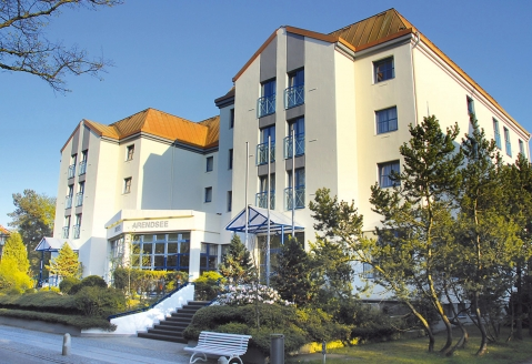 Morada Hotel Arendsee in Kühlungsborn, Außenansicht