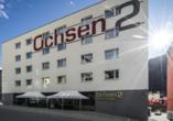 Hotel Ochsen 2 in Davos Platz, Außenansicht
