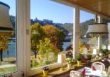 Rheinsteig, Sternwanderreise, Hotel Restaurant Colonius, St. Goarshausen, Restaurant