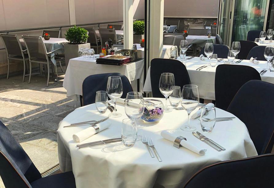 Hotel Sommerau-Ticino, Wintergartenrestaurant