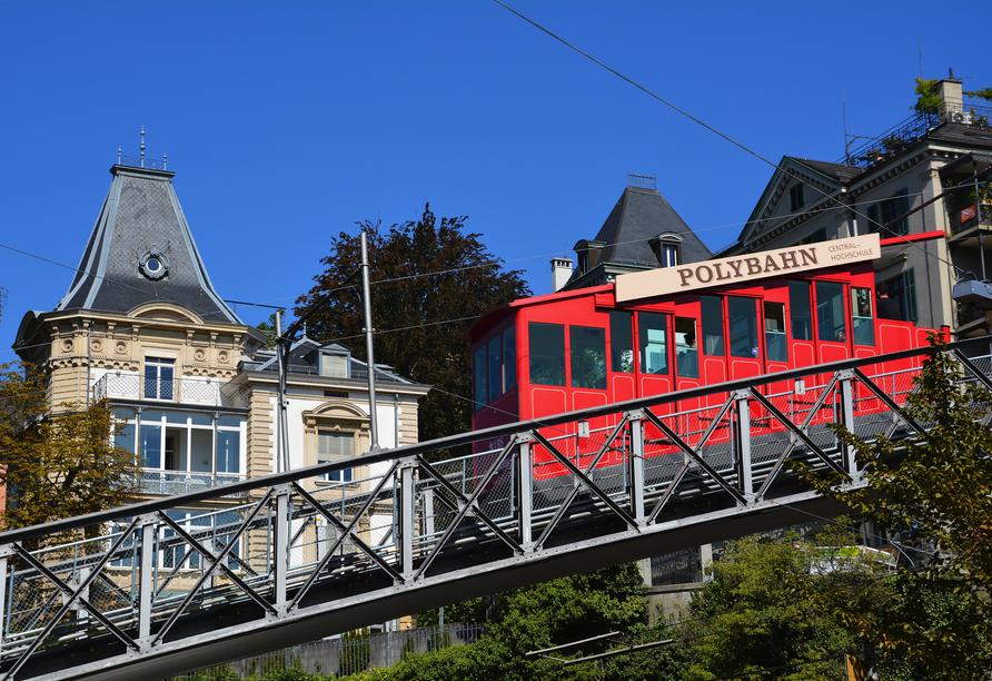 Hotel Sommerau-Ticino, Polybahn