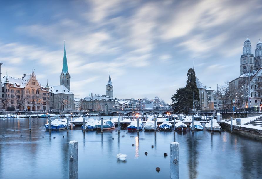 Hotel Sommerau-Ticino, Zürich im Winter