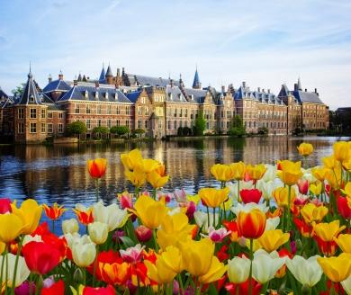 Der Binnenhof war und ist auch noch heite das politische Zentrum des Landes.