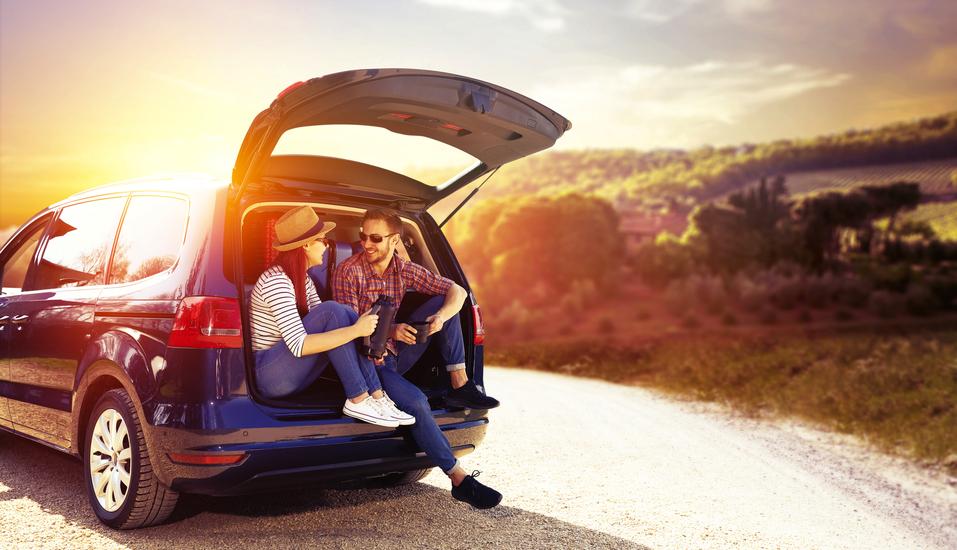 Rundreise Oberitalienische Seen, Menschen im Auto