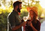 Rundreise Frankreich, Wein trinken