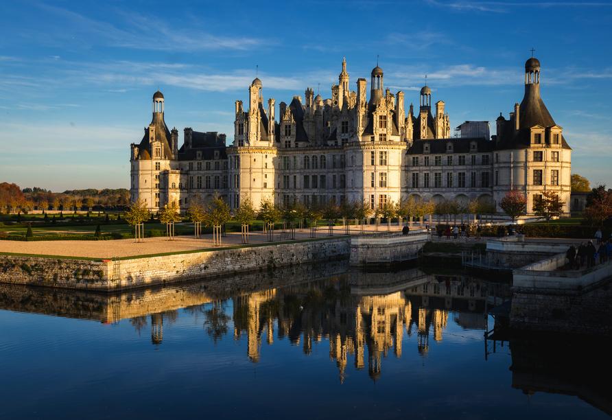 Rundreise Frankreich, Schloss Chambord