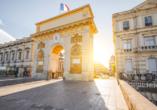Rundreise Frankreich, Montpellier Triumphbogen
