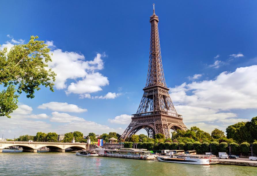 Rundreise Frankreich, Paris