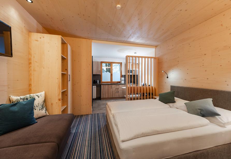 Aparthotel Ferienalm, Schladming, Steiermark, Österreich, Doppelzimmer Ennstal