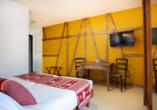Beispiel eines Doppelzimmers im Hôtel le Relais d'Issenheim