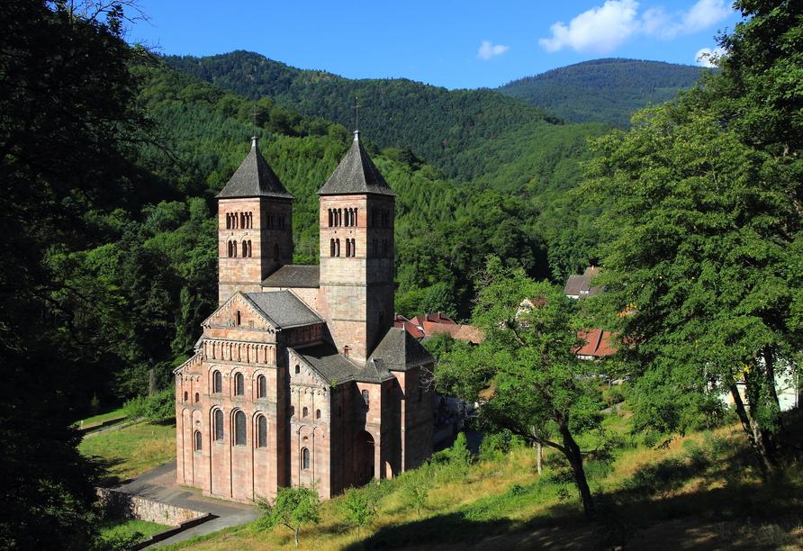 Das Kloster Murbach in Guebwiller war eines der berühmtesten Benediktinerabteien im südlichen Elsass.
