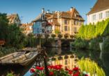 Entdecken Sie die schöne Stadt Colmar bei einem Tagesausflug.