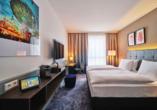 Beispiel eines Doppelzimmers im Dorint Parkhotel Bad Vilbel