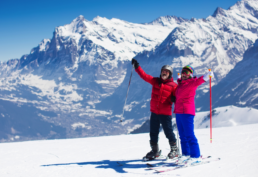 First Mountain Hotel Zillertal, Ski
