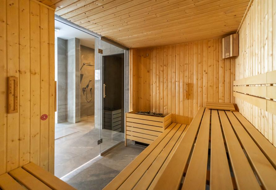 Saltic Resort & Spa, Gribow, Polnische Ostsee, Sauna