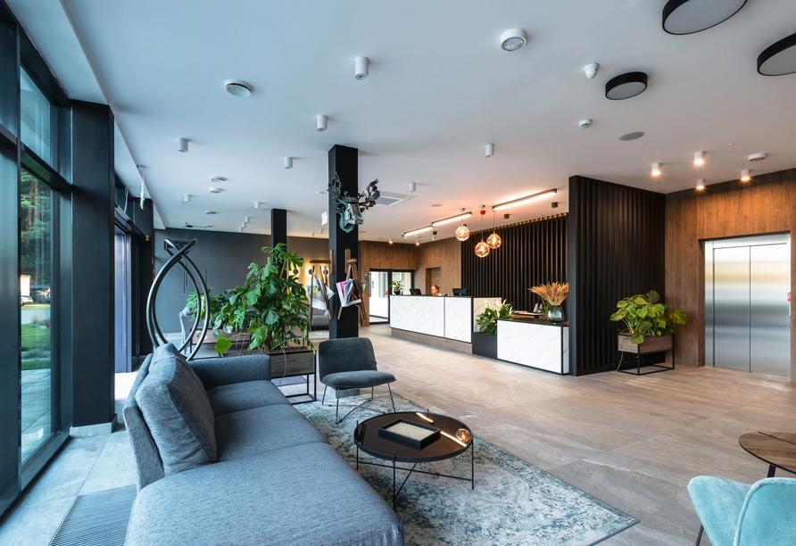 Saltic Resort & Spa, Gribow, Polnische Ostsee, Lobby
