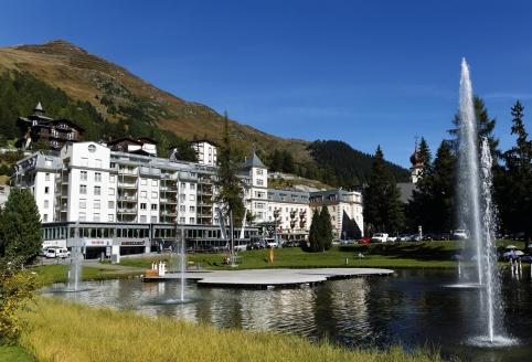 Precise Tale Seehof Davos, Außenansicht Sommer
