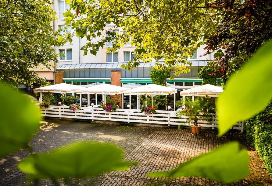 Ringhotel Residenz Alt Dresden, Terrasse