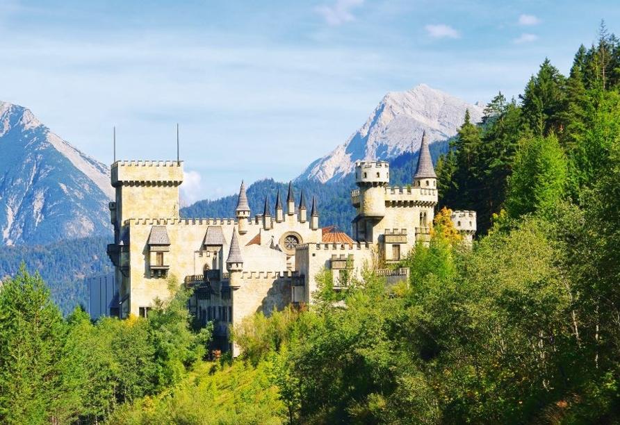 Hotel Habhof in Mösern bei Seefeld in Tirol, Burg Seefeld