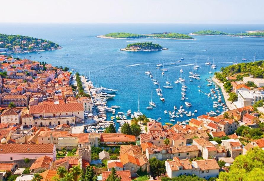 Blaue Reise Dalmatien, Hvar