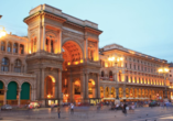 Mietwagenrundreise Norditalien, Galleria Vittorio Emanuele II