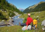 Hotel Habhof in Mösern bei Seefeld in Tirol, Wandern Lechtal