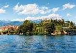 Mietwagenrundreise Norditalien, Isola Bella im Lago Maggiore