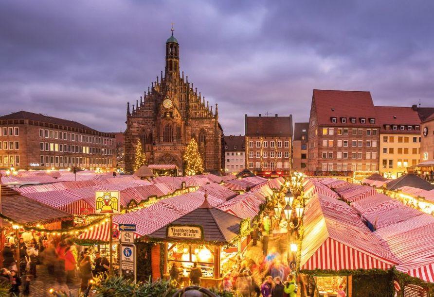 MS Adora, Weihnachtsmärkte entlang des Main-Donau-Kanals, Christkindelsmarkt Nürnberg