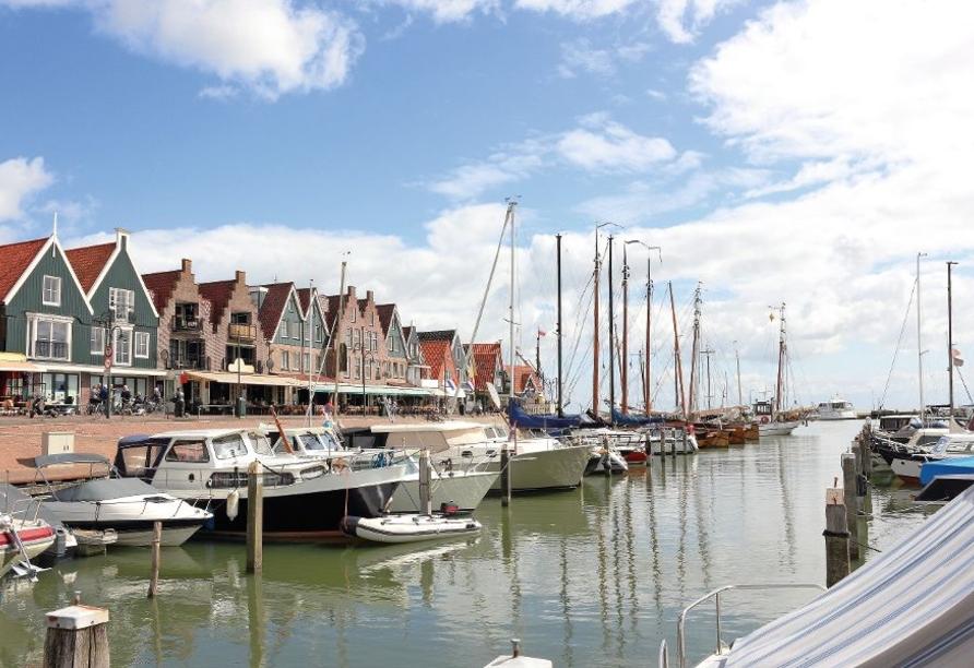 Hotel Spaander in Volendam, Hafen