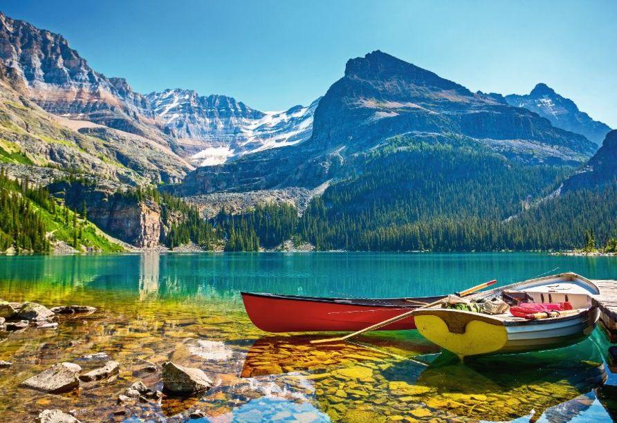 Kanadas Highlights von Ost nach West, See O'Hara im Yoho-Nationalpark