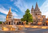 Zweifelsohne ist die märchenhafte Fischerbastei eine der berühmtesten Sehenswürdigkeiten von Budapest.