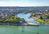 MS Poseidon, Deutsches Eck, Koblenz