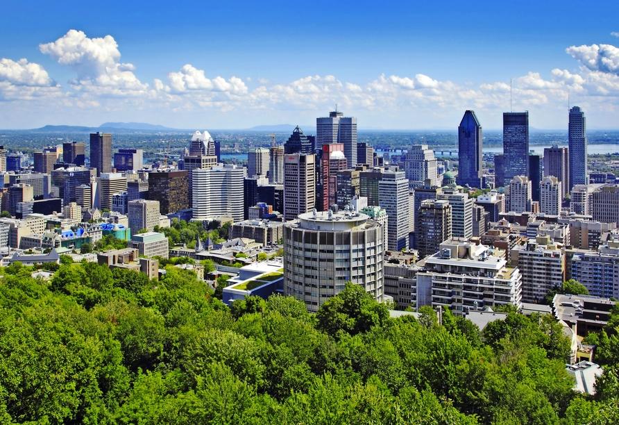 Kanadas Highlights von Ost nach West, Montreal