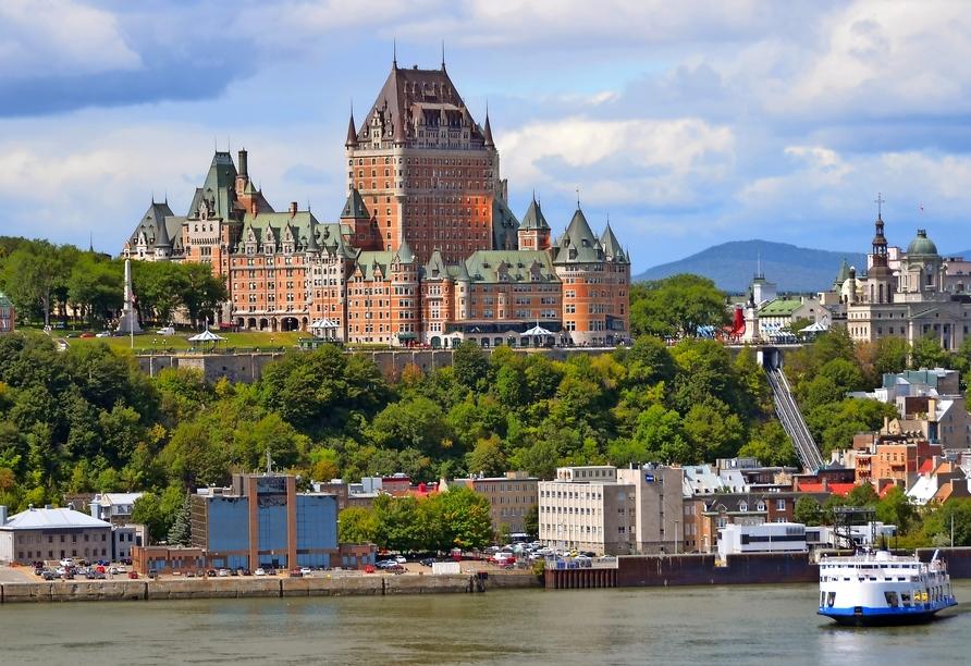 Kanadas Highlights von Ost nach West, Québec City