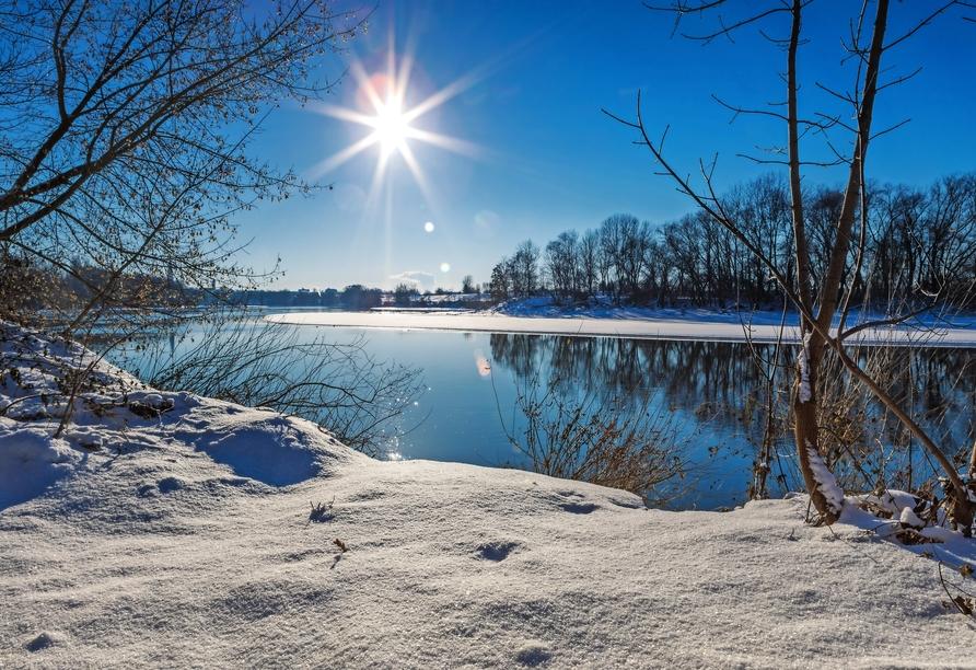 MS Adora, Weihnachtsmärkte entlang des Main-Donau-Kanals, Winterlandschaften