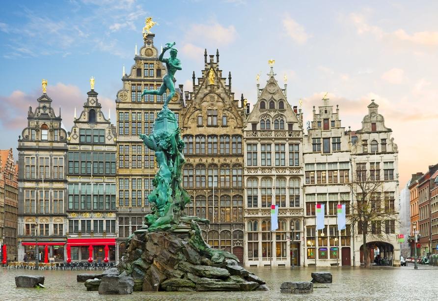 MS Aurelia, Antwerpen