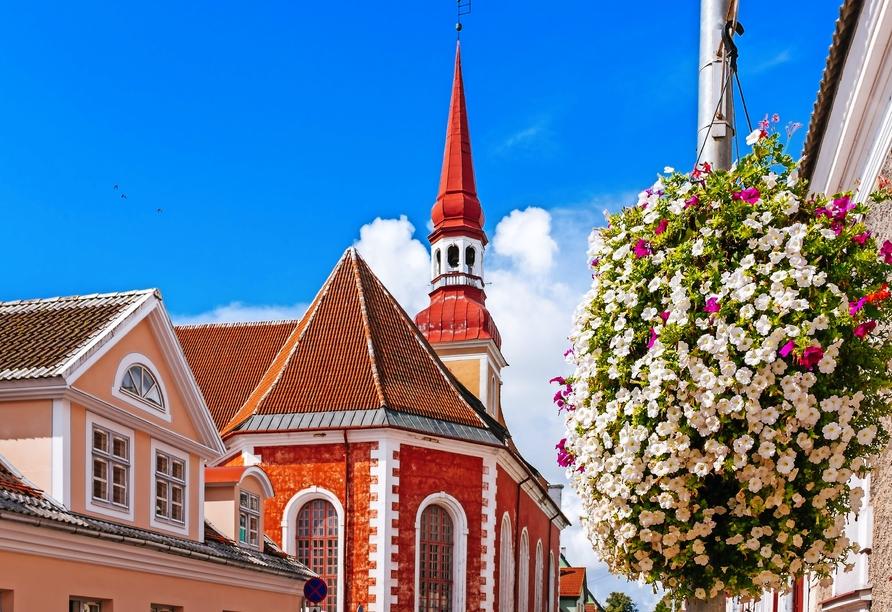 Die schöne Stadt Pärnu wird auch als Sommerhauptstadt Estlands bezeichnet.