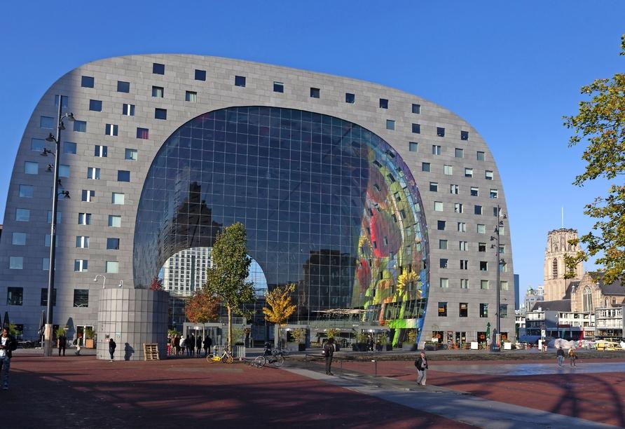 Queen Mary 2, Markthalle Rotterdam