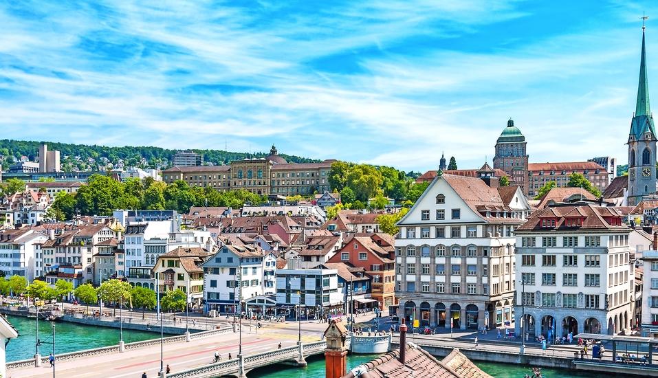 ALDEN Suite Hotel Splügenschloss Zürich, Schweiz, Zürich