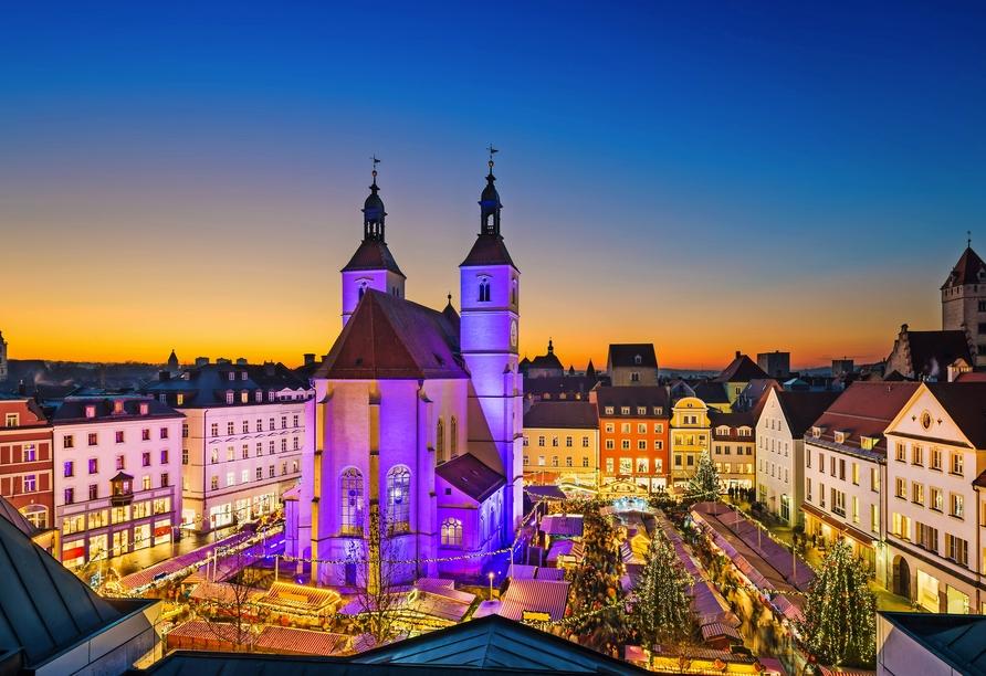 MS Adora, Weihnachtsmärkte entlang des Main-Donau-Kanals, Weihnachtsmarkt Regensburg