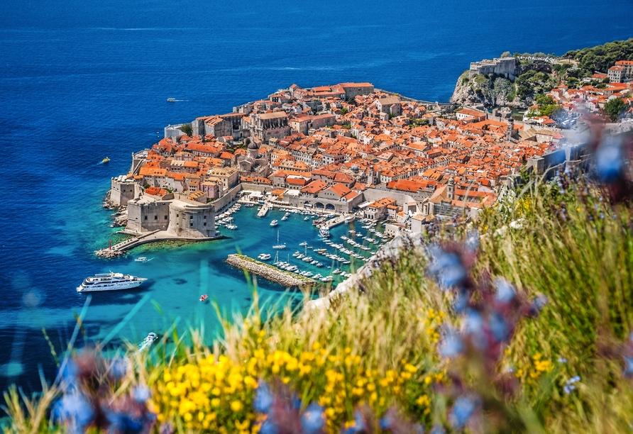 Freuen Sie sich auf Ihren Ganztagesausflug nach Dubrovnik.