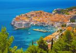 Ein weiterer Ausflug führt Sie in die Stadt Dubrovnik – die Perle der Adria.