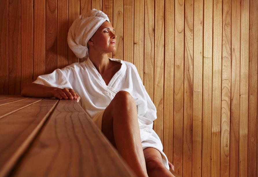 Hotel Resort Alpenrose, Sauna